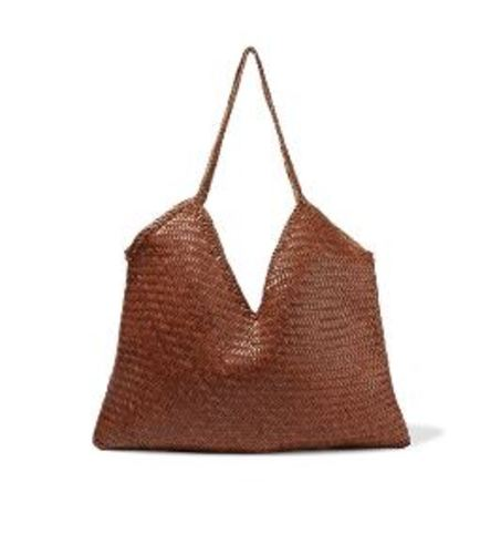 V woven leather tote - Dragon diffusion