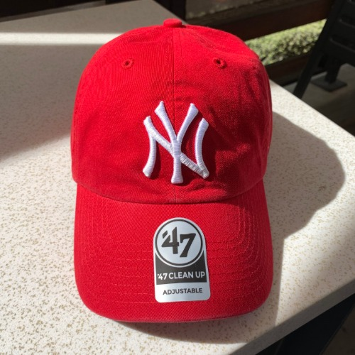 NEW YORK YANKEES- RED47BRAND
