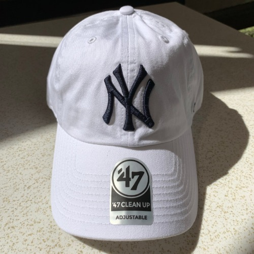 NEW YORK YANKEES- WHITE47BRAND